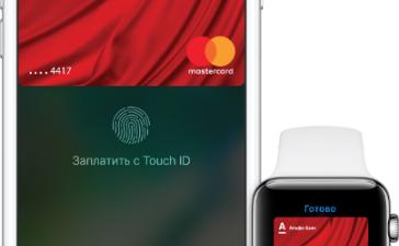 Apple Pay заработал с Альфа-банком, Яндекс.Деньгами и еще семью российскими банками