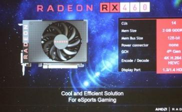 AMD подтвердила характеристики Radeon RX 470 и Radeon RX 460