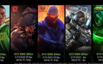 NVIDIA представила недорогие видеокарты GeForce GTX 1050 и 1050 Ti на базе Pascal