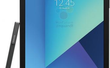 Samsung Galaxy Tab S3 со стилусом S Pen показался на рендере
