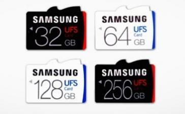 Samsung представила первые в мире карты памяти стандарта UFS