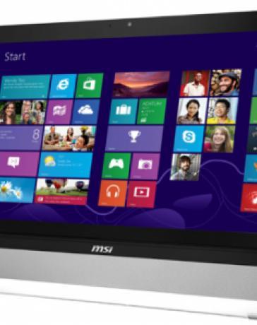 Новый MSI Wind Top – прикоснитесь к Windows 8