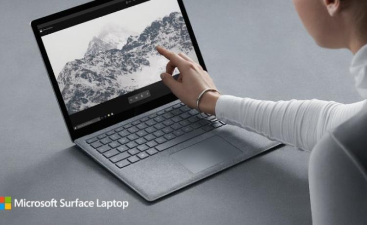 Microsoft представила ноутбук Surface