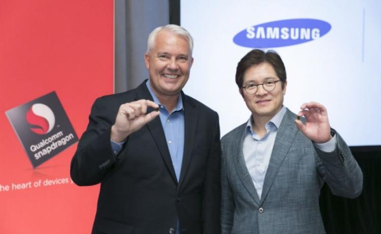 Samsung и Qualcomm начали работу над процессором для Galaxy S9