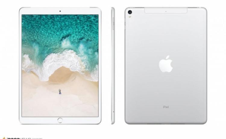 10,5-дюймовый iPad Pro показался на 3D-рендерах и макете
