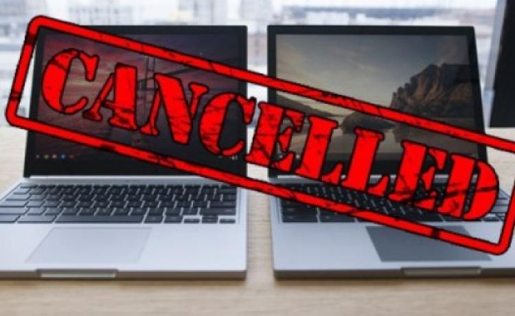 Google решила отказаться от выпуска ноутбуков Pixel
