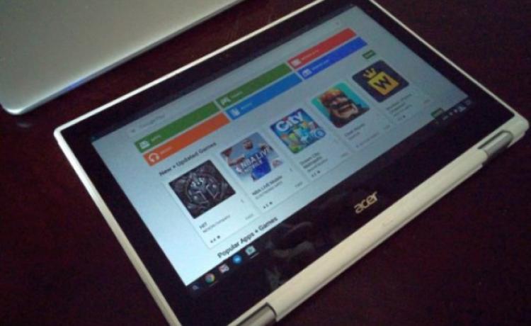 Стабильная версия Chrome OS получила Google Play