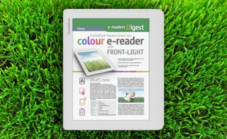 Анонс цветной читалки с подсветкой от PocketBook